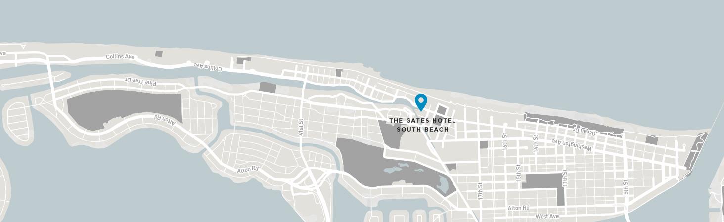 Map The Gates South Beach
